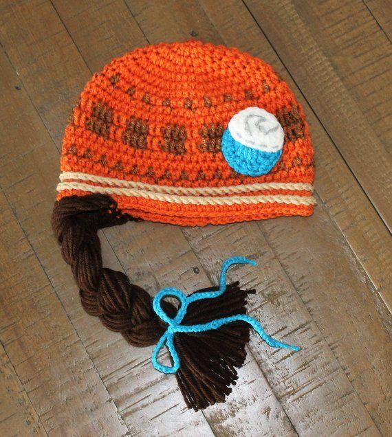 Moana Inspired Crochet Hat - Handmade to Order - Newborn to Adult ... b53dacb7e0f