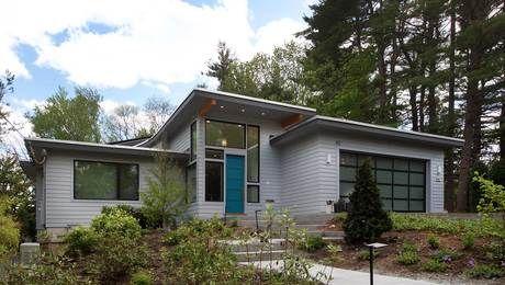 Haus Flachdach Garage Einfamilienhaus Planen Bauen | Architecture |  Pinterest | Flachdach, Einfamilienhaus Und Garage