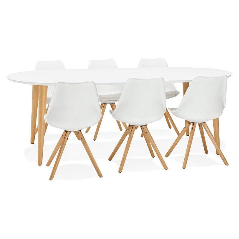 table a manger ronde scandinave a