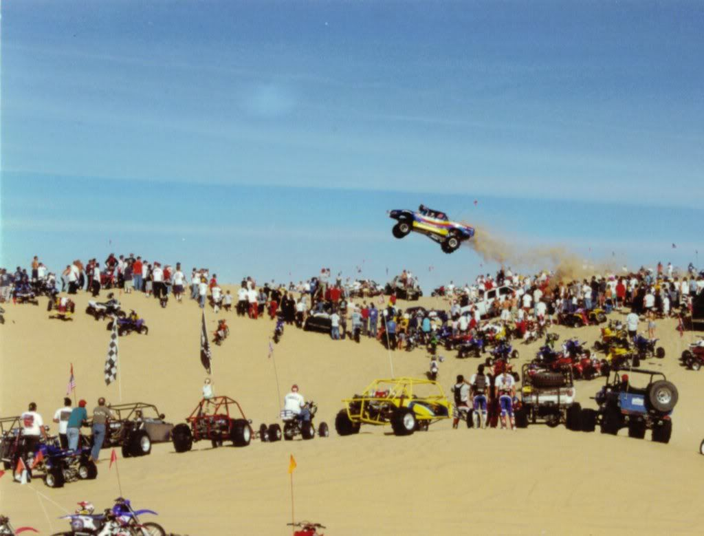 Glamis sand dunes Southern California  Getting projects