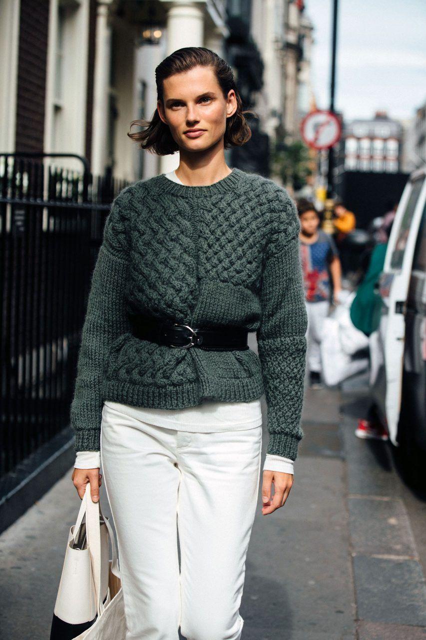 Fashion week Fashion london week fall models off duty for woman
