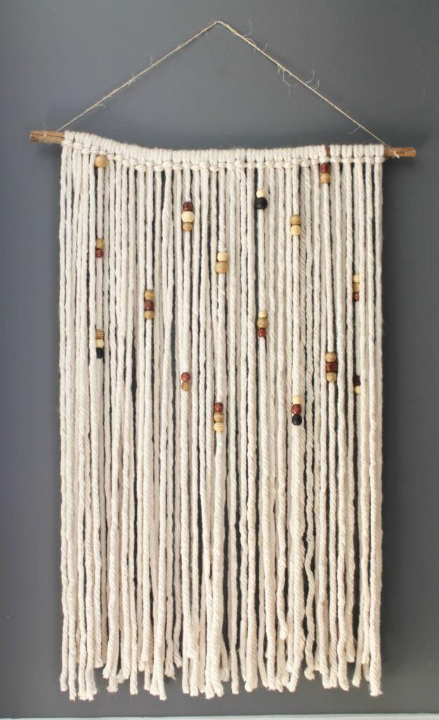 Diy Macrame Wall Hanging Yarn Art Projects