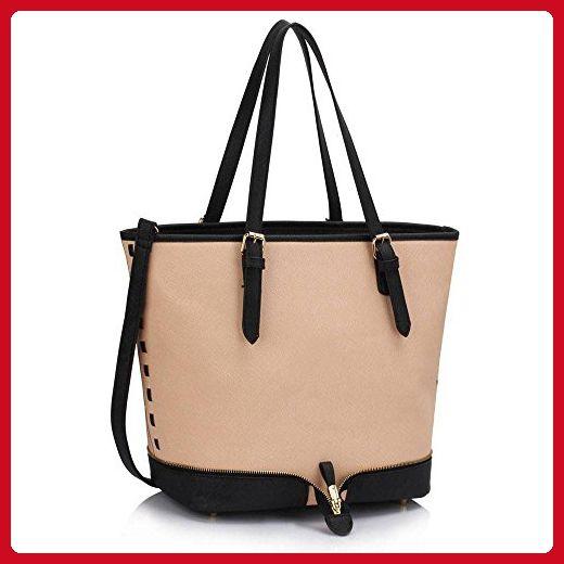Ladies Large Shoulder Bags Womens Designer Handbags Leather ... 6548493189264