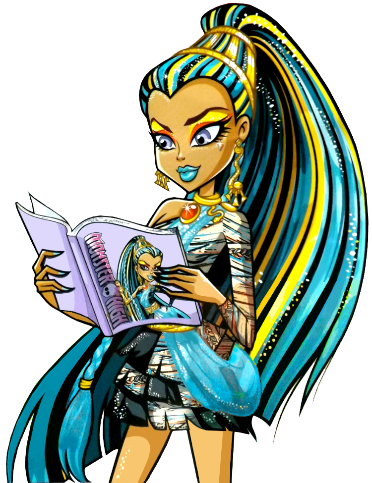 Monster high nefera de nile nefera de nile is cleo 39 s older sister arrogant and selfish she - Nefera de nile ...