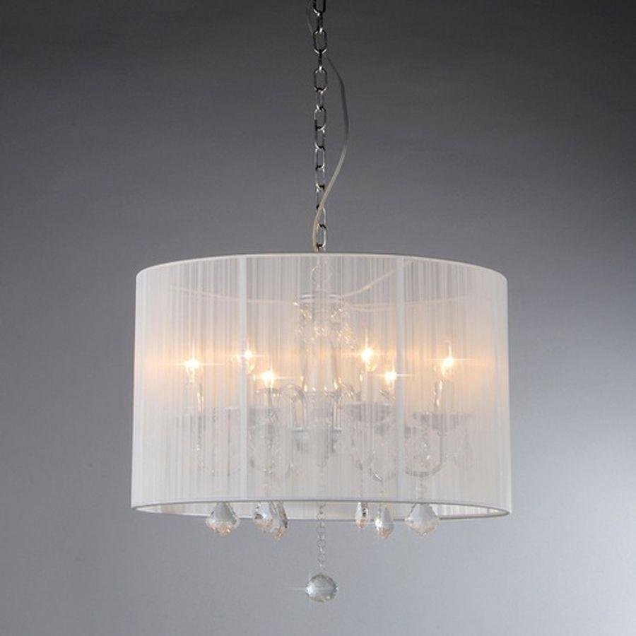 image vintage drum pendant lighting. Warehouse Of Tiffany 18.5-in 6-Light Chrome Vintage Drum Chandelier Image Pendant Lighting