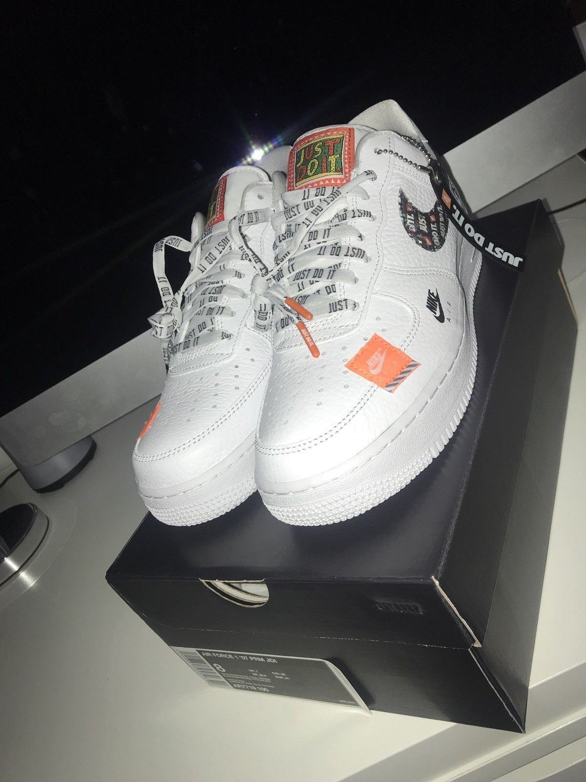 ea41b095664 Nike Air Force 1 07 PRM JDI Collection Brand New Men Size 8 ...