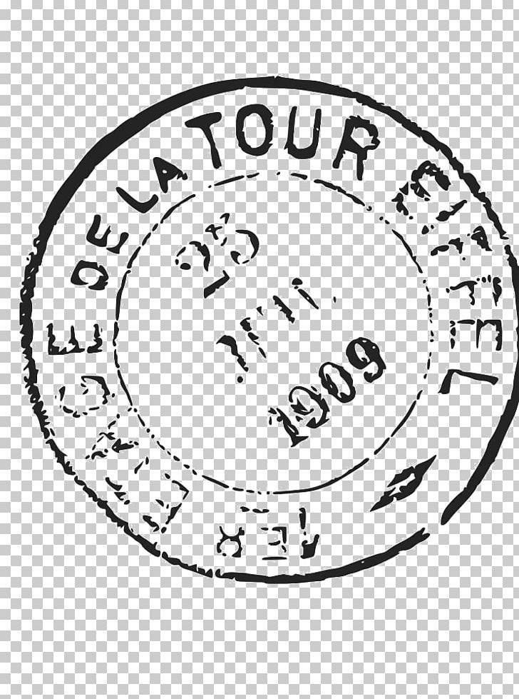 Eiffel Tower Postmark Rubber Stamp Png Clipart Area Black And White Brand Circle Clip Art Free Png Download Stamp Journal Stickers Postmark