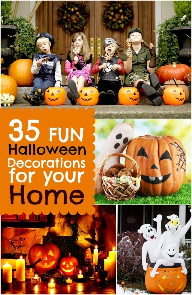 35 Fun Halloween Decorations for Your Home Halloween Pinterest