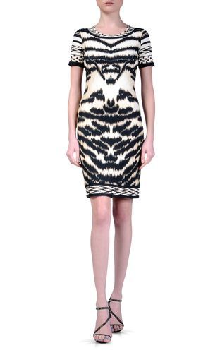 Short Dress - ROBERTO CAVALLI - 96% Viscose, 4% Elastane