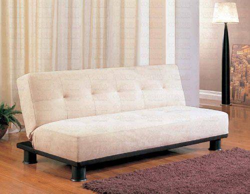 Dimension 71 L X 34 W X 31 H Sofa Bed 71 L X 43 W Finish Beige Material Microfiber Metal Hardwood Fu Elegant Sofa Bed Futon Sofa Bed Convertible Sofa Bed