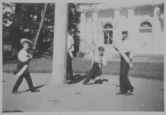Vasili, Rostislav, and Nikita