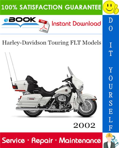 2002 Harley Davidson Touring Flt Models Flht Flhc Flhu Flhr Flhc Fltr Flhrsei Service Manual In 2020 Harley Davidson Touring Harley Davidson Touring