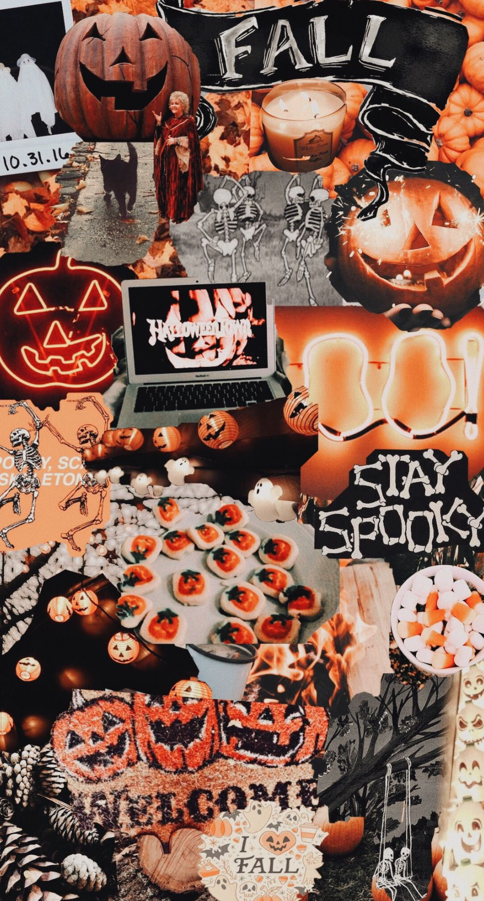 Idea by ELLE on VSCO Halloween wallpaper iphone, Fall