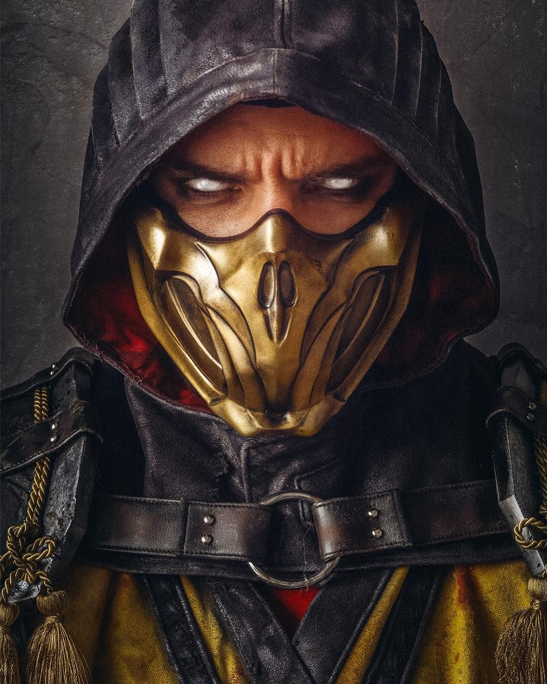 Ad We Finished Him My New Scorpion Cosplay Is Done And I