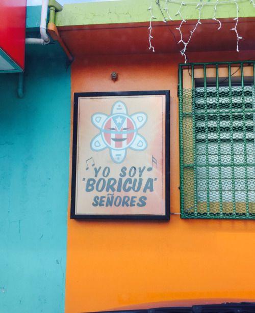 Yo soy boricua señores. Arecibo, Puerto Rico