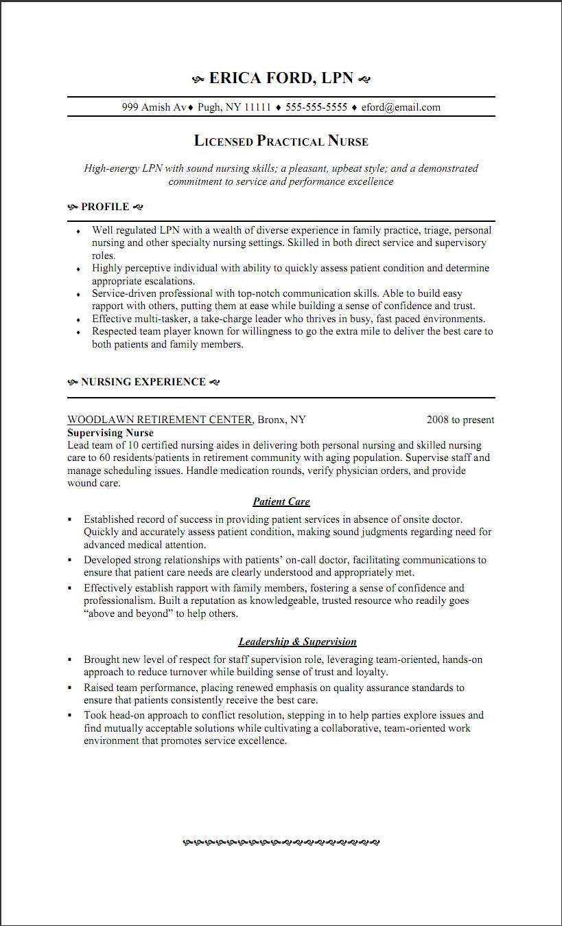 Licensed Practical Nurse Resume Http Www Resumecareer Info Licensed Practical Nurse Resume 3 Lpn Resume Nursing Resume Resume Objective Statement