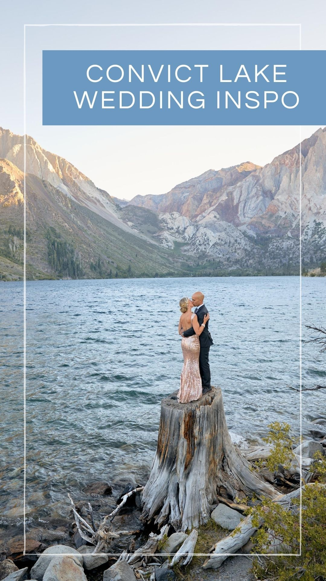 Convict lake wedding elopement inspiration in 2020