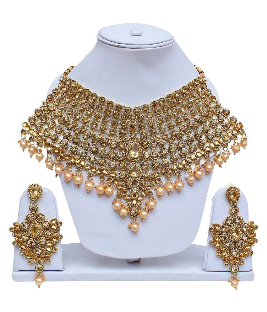 Lucky Jewellery, LCT Golden Bridal Dulhan Wedding & Engagement ...