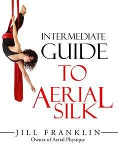 intermediate guide to aerial silk  paperback book