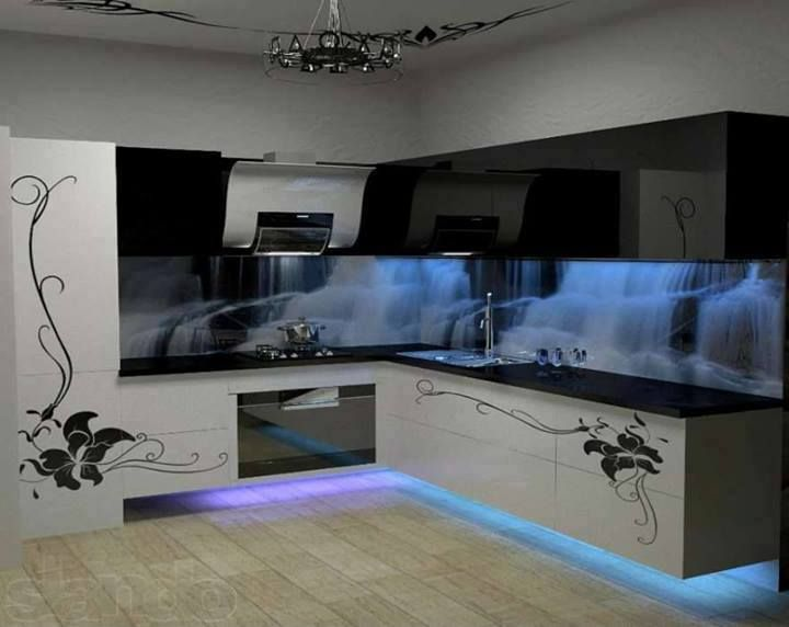 Need to rev up your kitchen. Try adding some fun lighting!