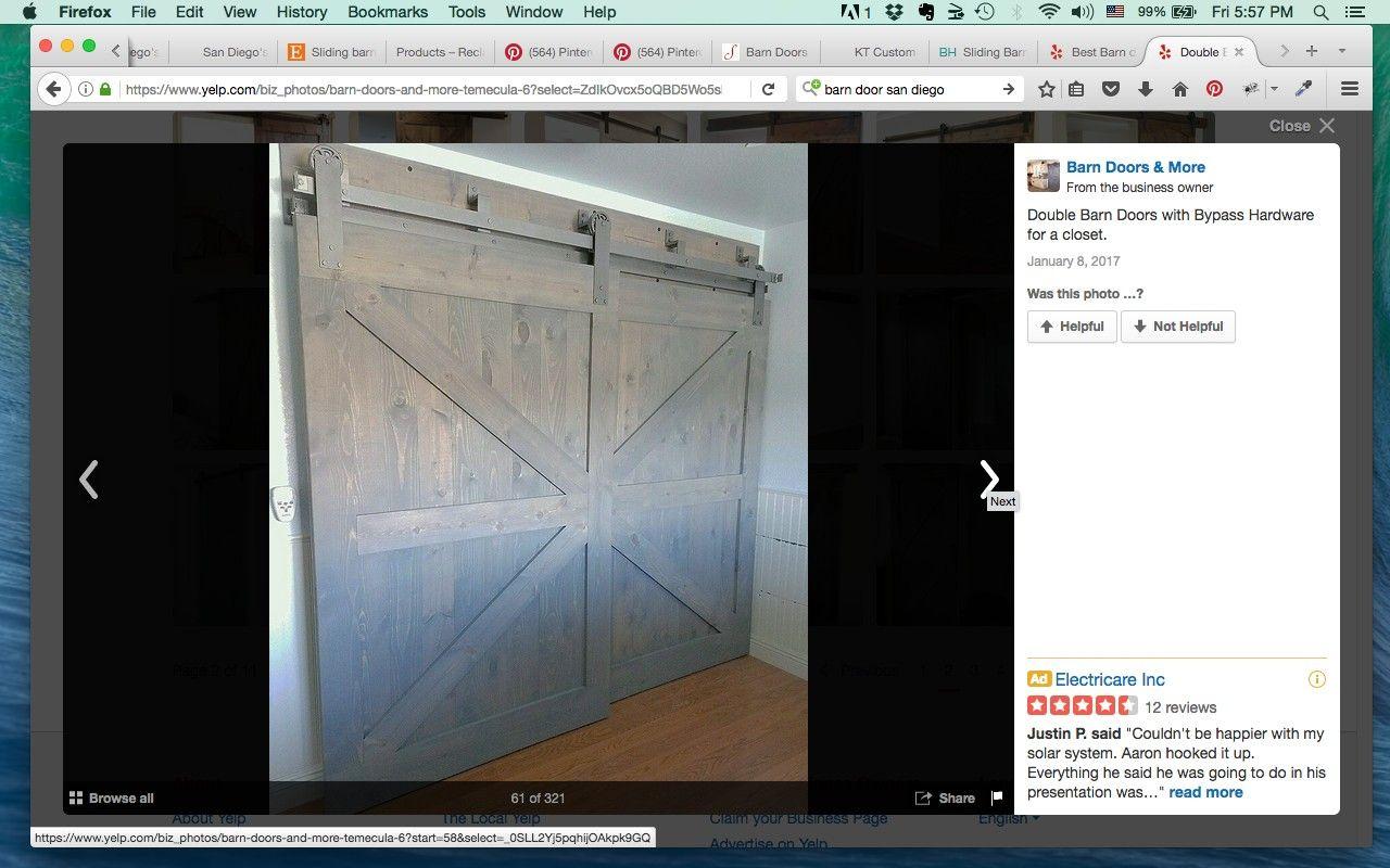 Pin By Red Trolley Studio On Barn Doors Barn Door Double Barn Doors Locker Storage