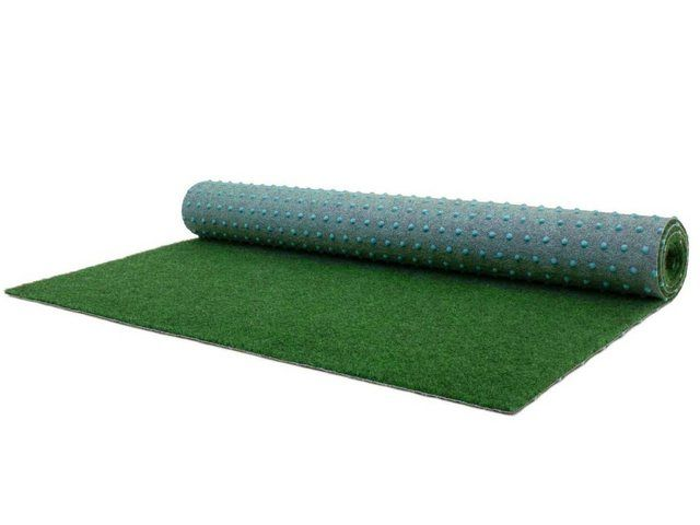 Teppich »COMFORT«, , rechteckig, Höhe 5 mm, Rasenteppich, Farbe grün, In- und Outdoor geeignet