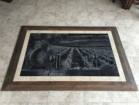 Fire Services Granite Tile Floor Mural 3 X 5 Custom Engraving Other Sizes Available Floor Murals Granite Tile Mural