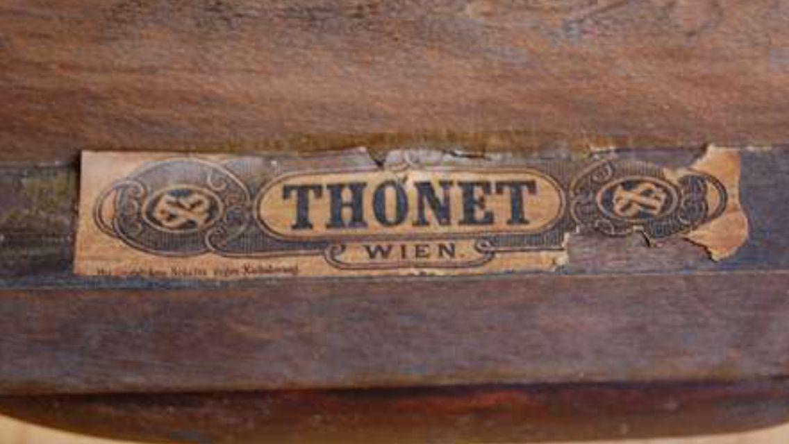 Thonet Label Austria Vienna