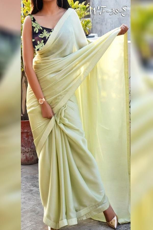 Buy New Heavy Satin Silk saree online from Zaairah Fab #saridress