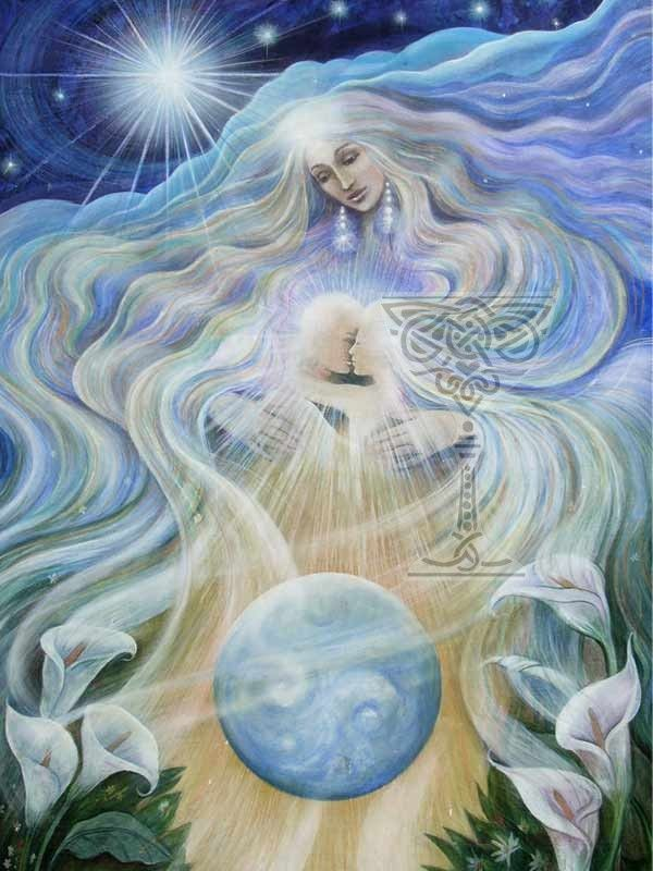 Angel of Unconditional Love by Pamela Matthews | Visionary art, Angel art,  Fantasy paintings