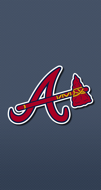 Baseball - Atlanta Braves - 8 iPhone 6 Wallpaper   Braves   Brave wallpaper, Baseball wallpaper ...
