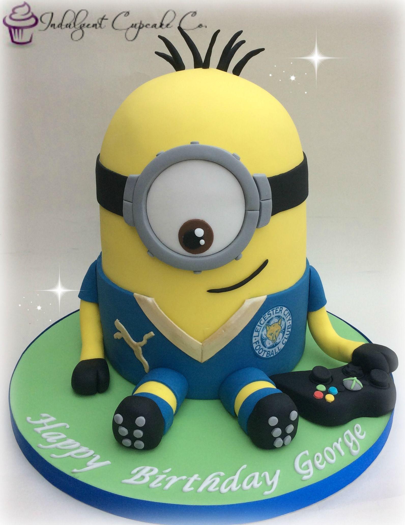 Leicester City Football Club LCFC Minion Football party