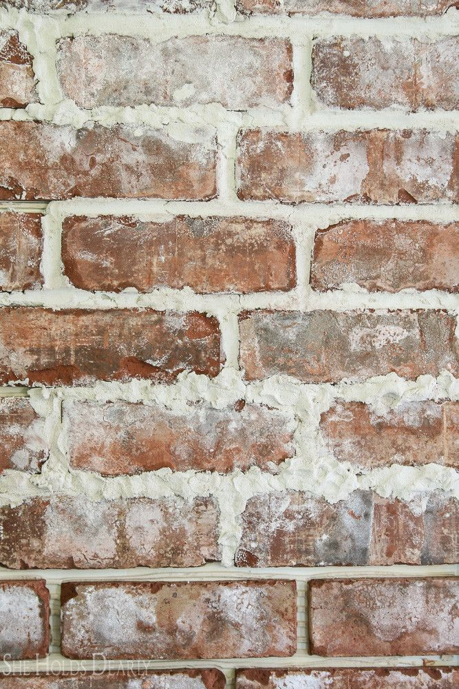 How To Install A Rustic Brick Accent Wall Brick Accent
