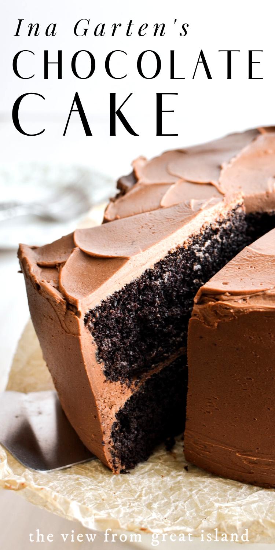 Ina Garten S Chocolate Cake Recipe In 2020 Amazing Chocolate Cake Recipe Chocolate Cake Recipe Chocolate Layer Cake Recipe