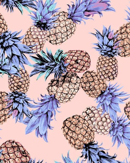 Pineapple wallpaper and background image pinteres for Print from pinterest