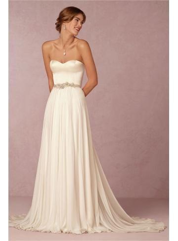 Hochzeitskleid, Seide, Hochzeitskleid, romantisch | Hochzeit ...