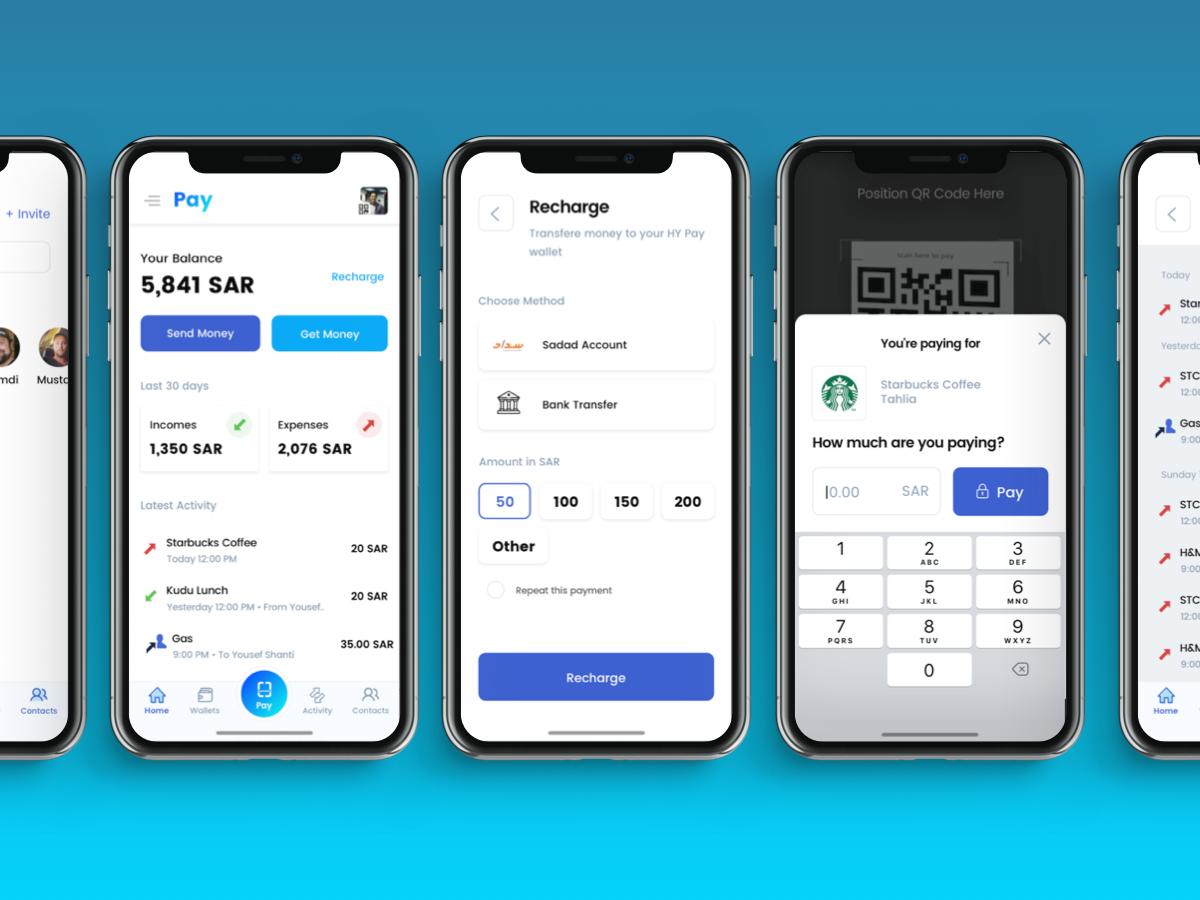 Pay App Concept Screens Mobile App Design Ios Ecommerce App App
