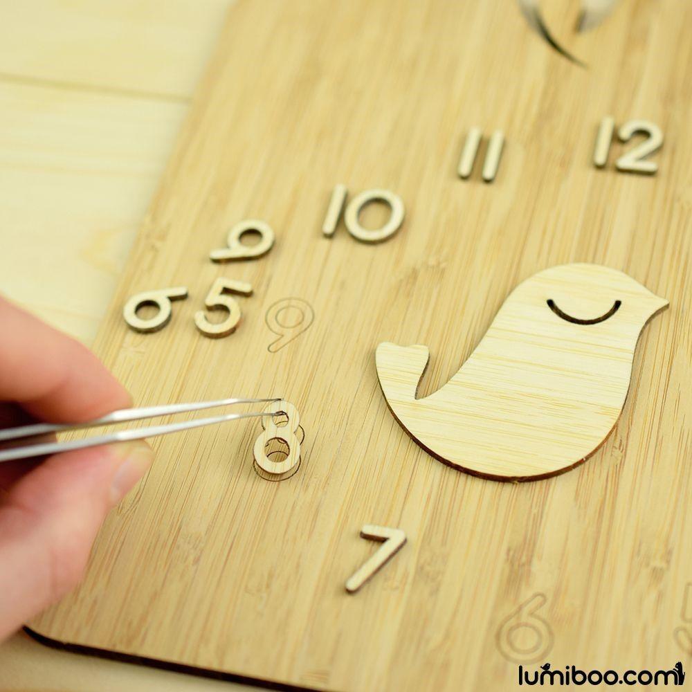 Pin by Lumiboo on Bird House Wall Clock | Pinterest | Bamboo wall ...