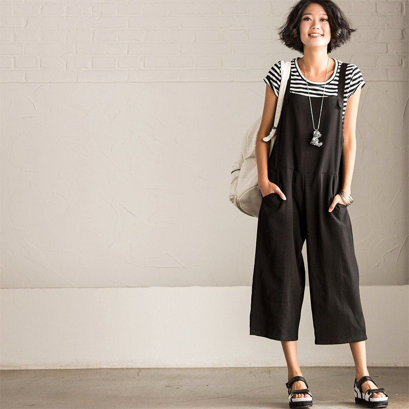Women's Clothing Objective Plus S-5xl 2019 Summer Women Cotton Linen Jumpsuits Loose Solid Straps Pockets Romper Dungaree Bib Overalls Long Wide Leg Pants We Take Customers As Our Gods