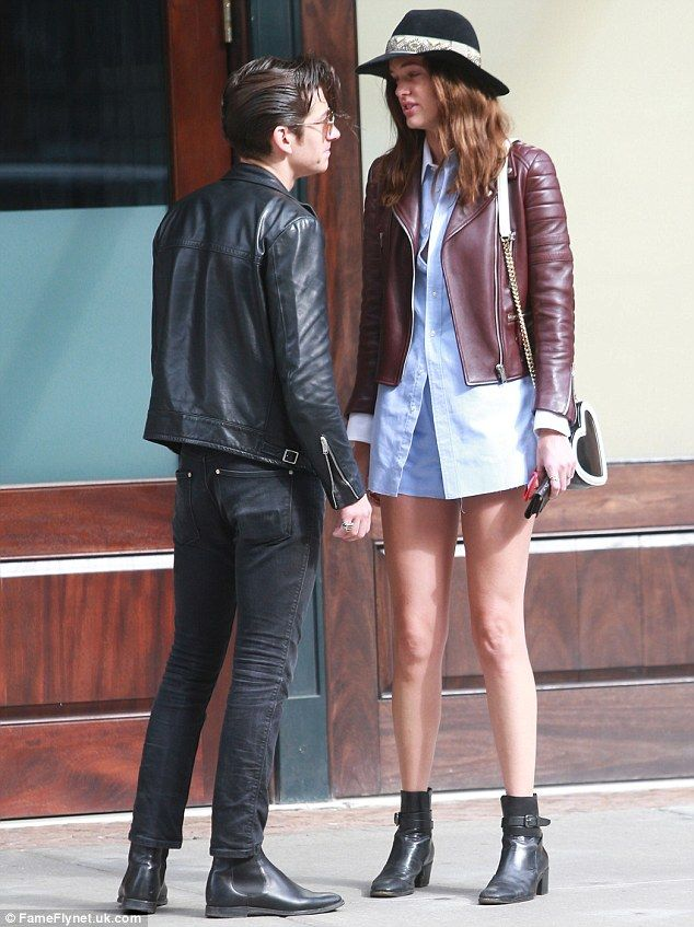 Alex Turner Is Towered Over By Leggy Girlfriend Taylor