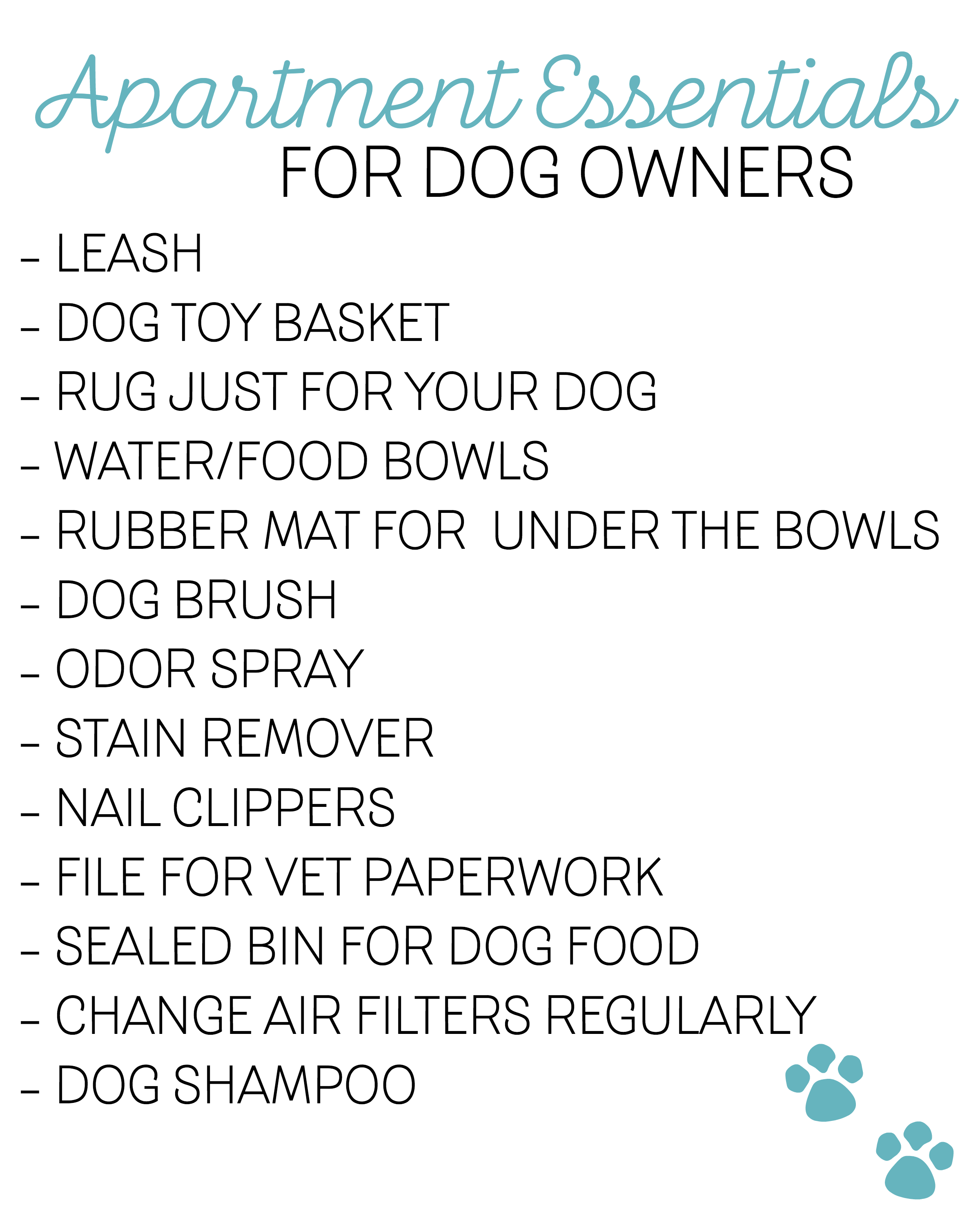 Dog Apartment Essentials: Living Small With A Large Pet