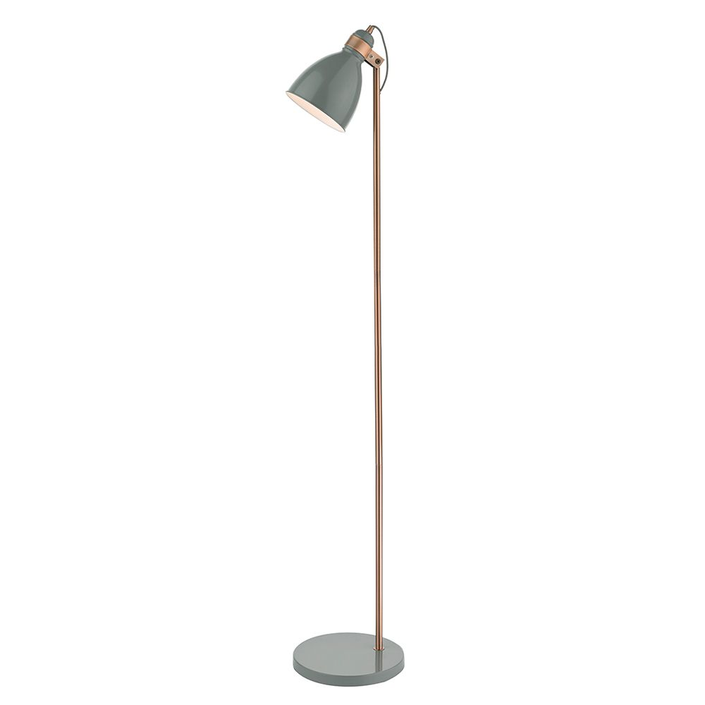 Dar Frederick Table Lamp Copper Copper Floor Lamps From Pagazzi Double Insulated Floor Lamp With Foot Switch Free Next Copper Floor Lamp Floor Lamp Lamp