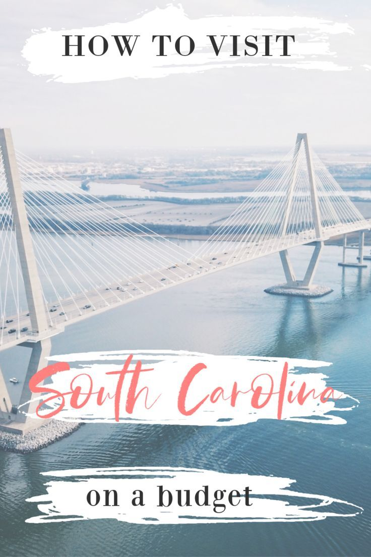 It's still possible to travel in South Carolina while on a budget. This how to guide will give you a list of free and cheap things to do in the state as well as how to save money on accommodation. This is your ultimate guide for traveling South Carolina on a budget. #travel #usatravel #budgettravel #travelwithkids #southcarolina #usatravel