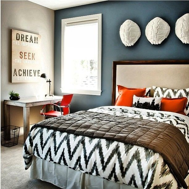 bold bedroom colors. Dare To Be Different  20 Unforgettable Accent Walls Blue accent