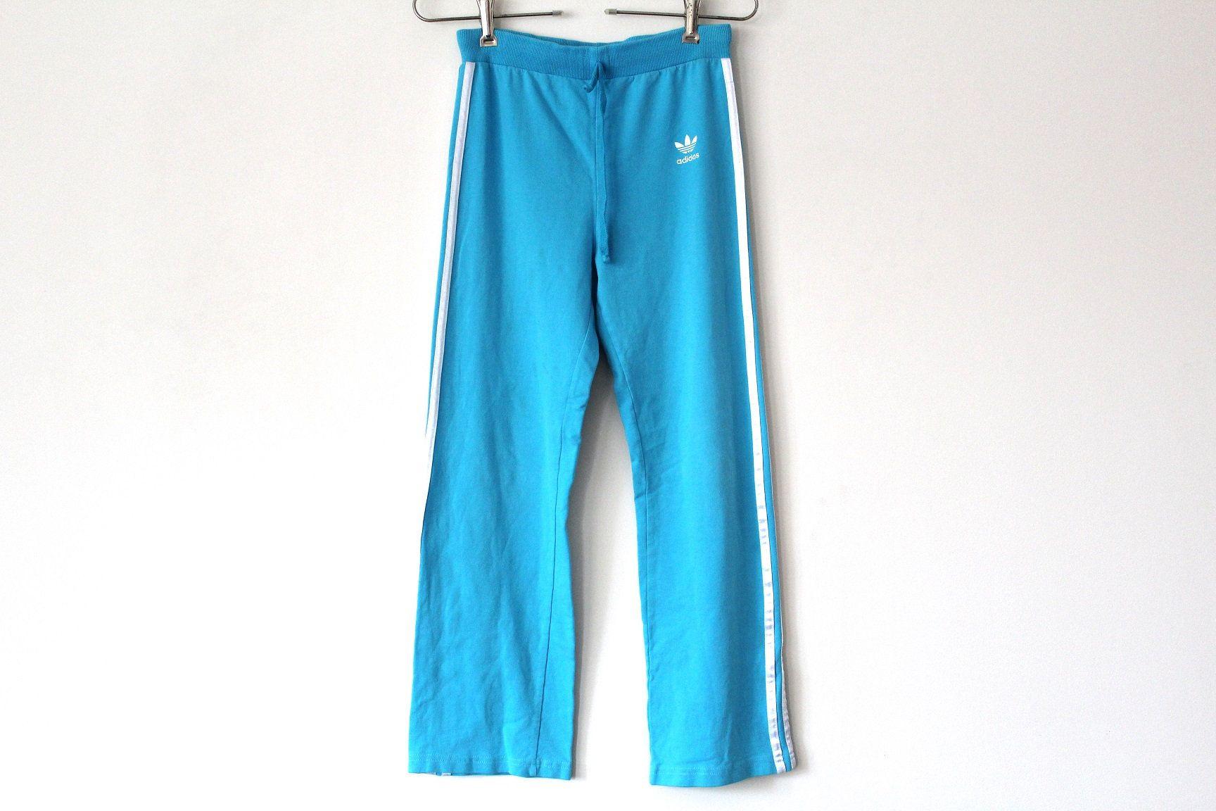Blue Adidas Pants Vintage Adidas Track Pants Trefoil Adidas