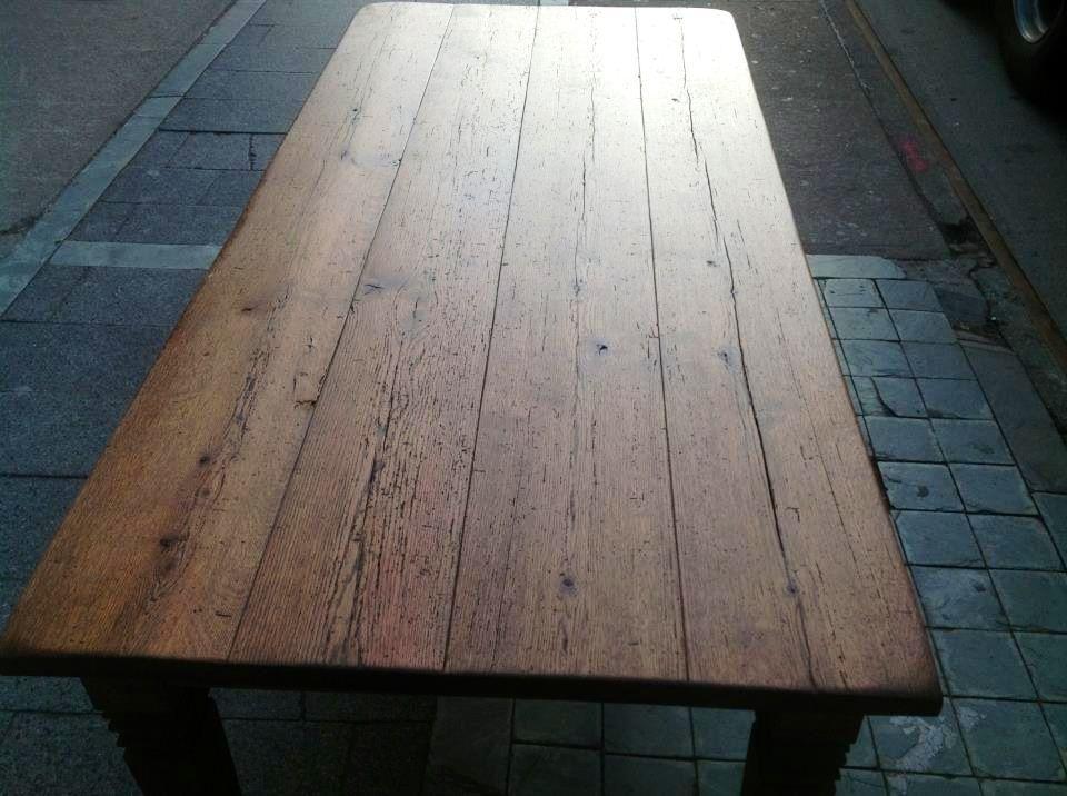 Dark Wood Dining Table Boho