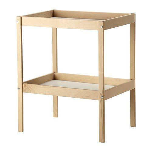 sniglar table à langer, hêtre, blanc | babies, nursery and change