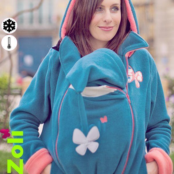 fc0c2ac4d6a7 Tout nouveau, tout beau ! Le manteau de portage de Zoli aux couleurs ...