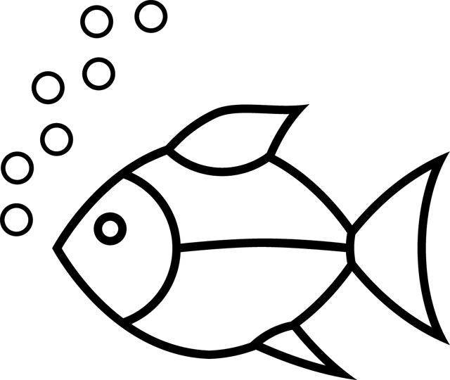 Un poisson   Coloriage, Image a colorier, Coloriage ours
