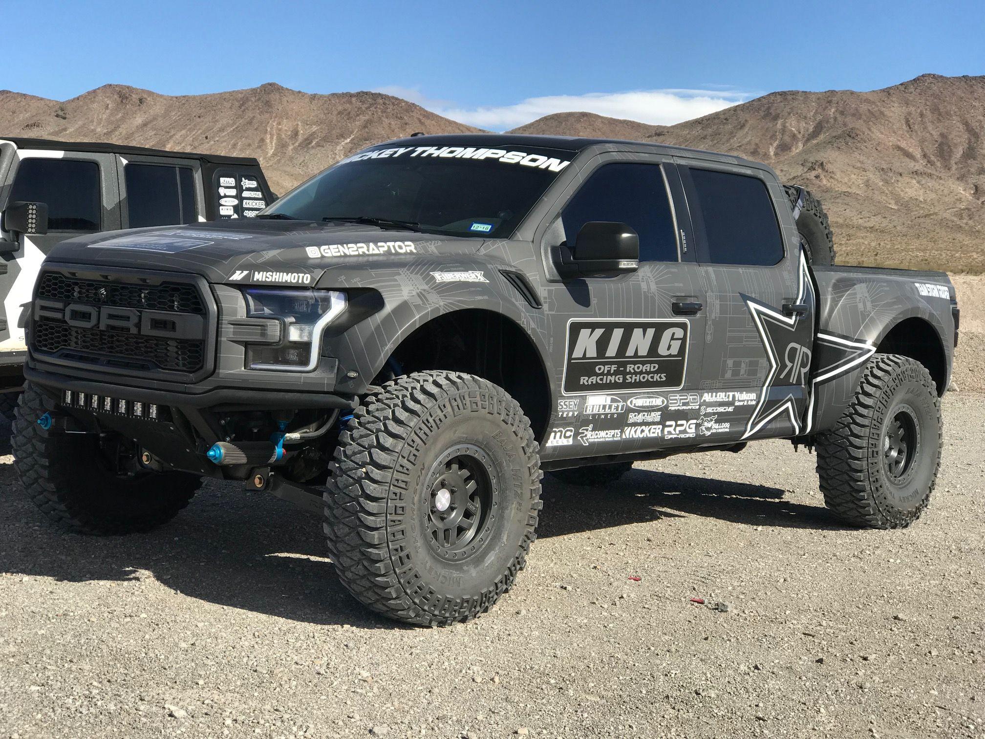 2017 Ford Raptor Deberti Fenders With Images Ford Raptor